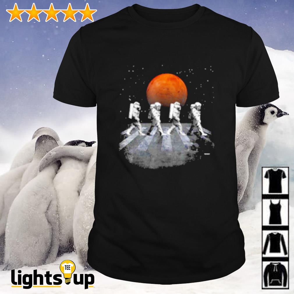 Space traveler nasa abbey road shirt