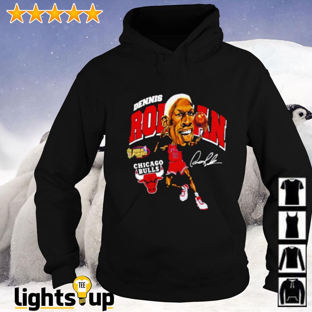 Dennis Rodman Chicago Bulls signature Hoodie