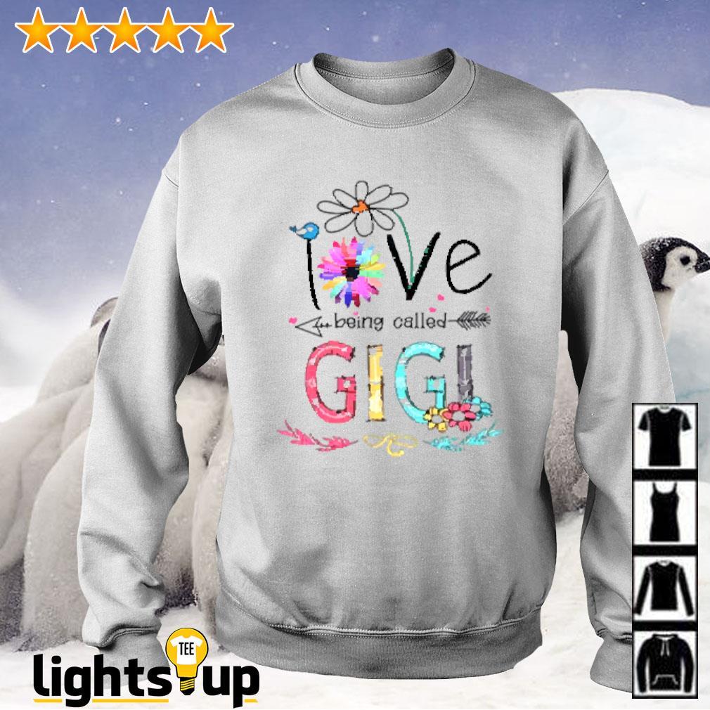 I love being called Gigi daisy flower Sweater
