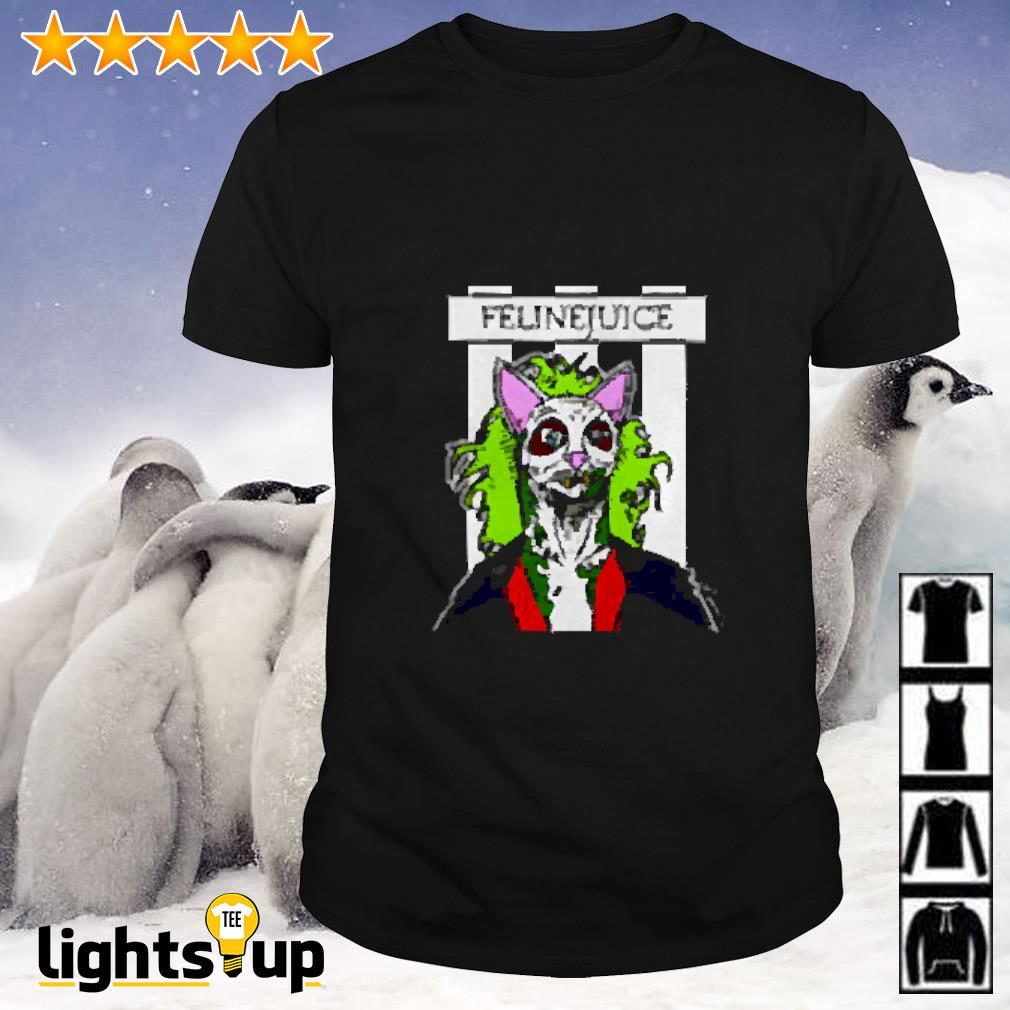 Joker cat Felinejuice shirt