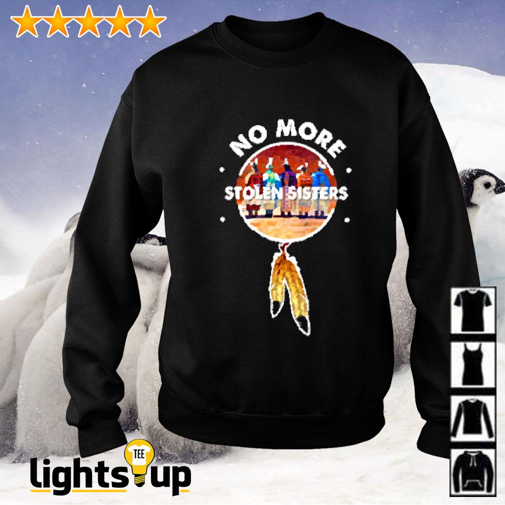 No more stolen sisters American native Sweater