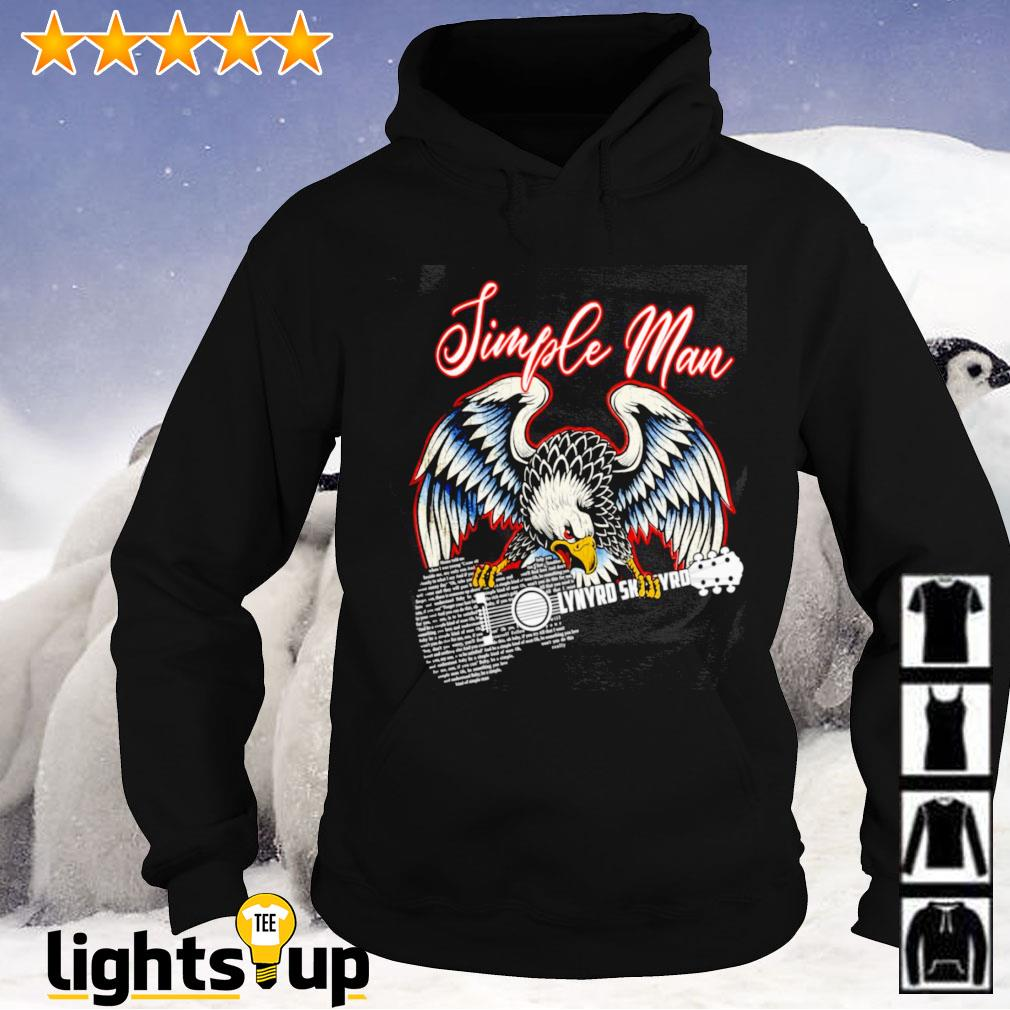 Simple man eagles guitar Lynyrd Skynyrd Hoodie