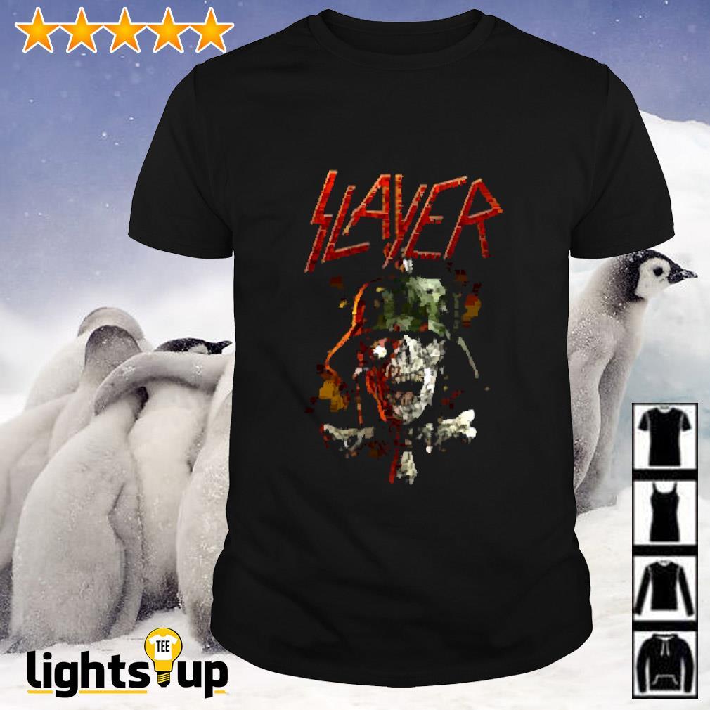 Slayer soldier cross shirt
