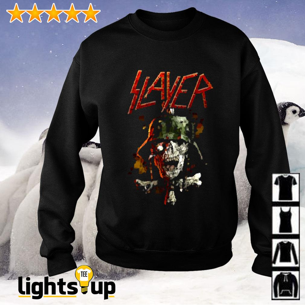 Slayer soldier cross Sweater
