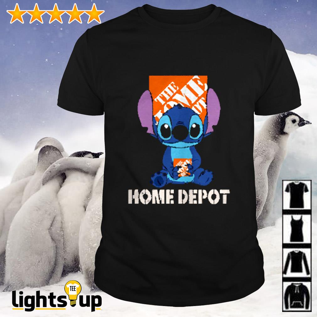Stitch hug The Home Depot shirt
