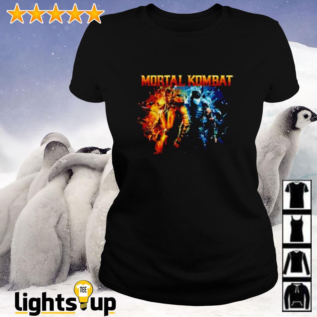 The Game Mortal Kombat Scorpion and Subzero Ladies-tee
