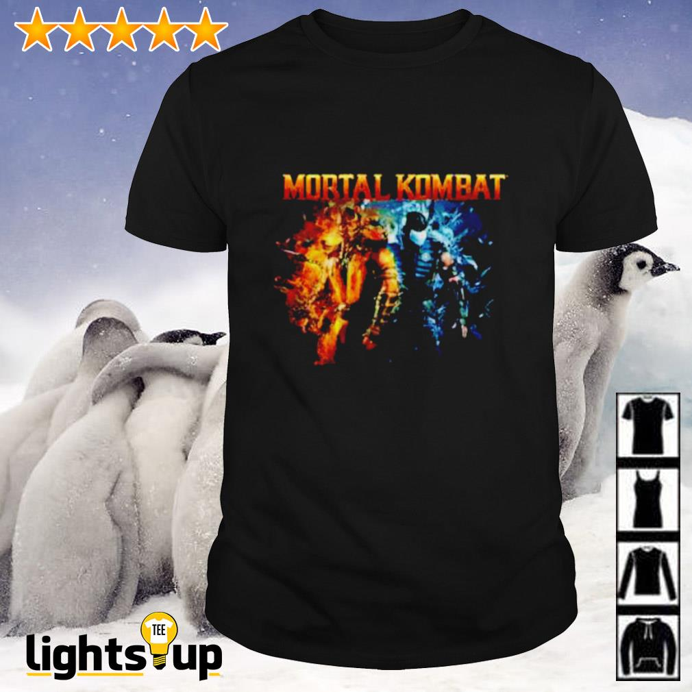 The Game Mortal Kombat Scorpion and Subzero shirt