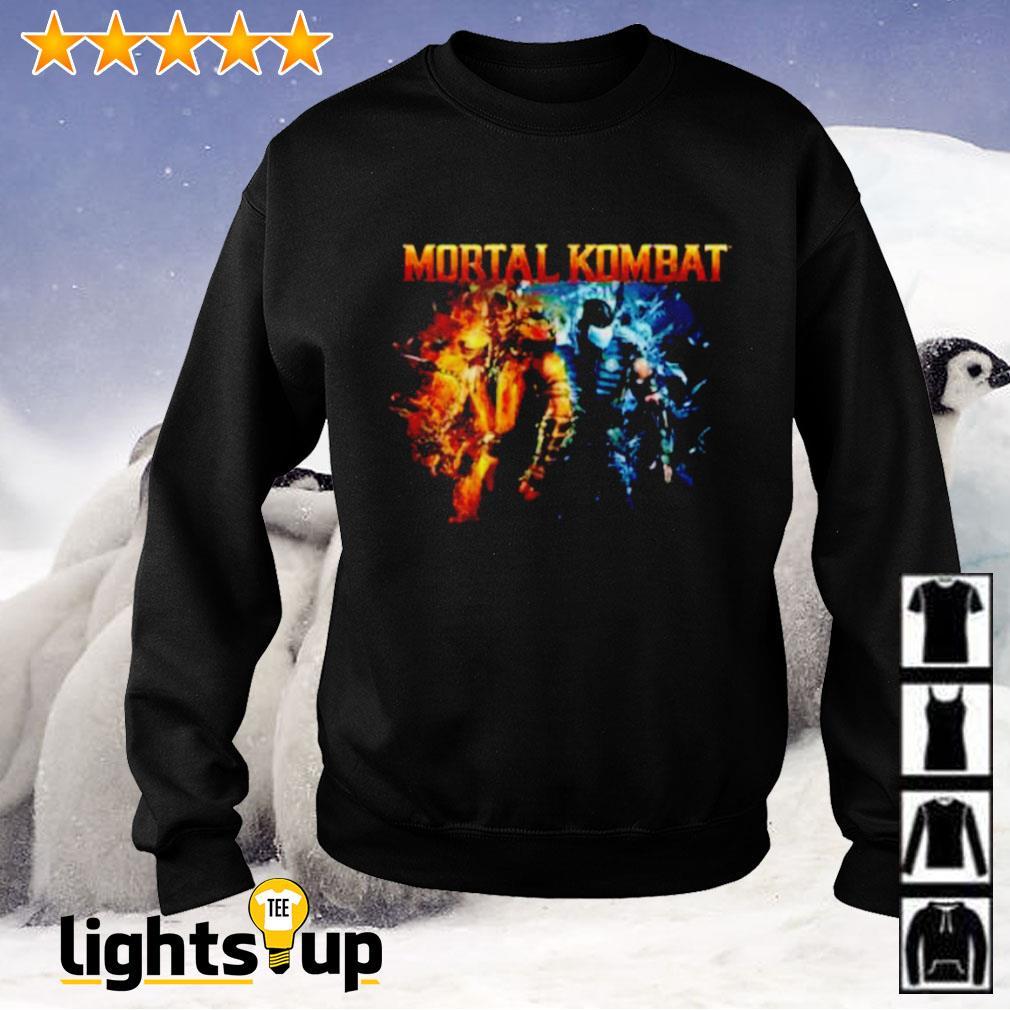 The Game Mortal Kombat Scorpion and Subzero Sweater