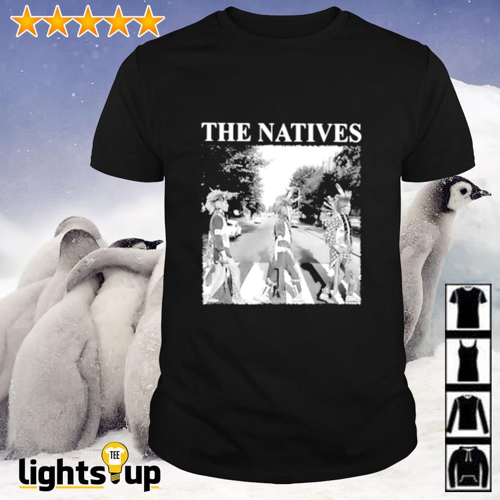 The natives Abbey Road shirt