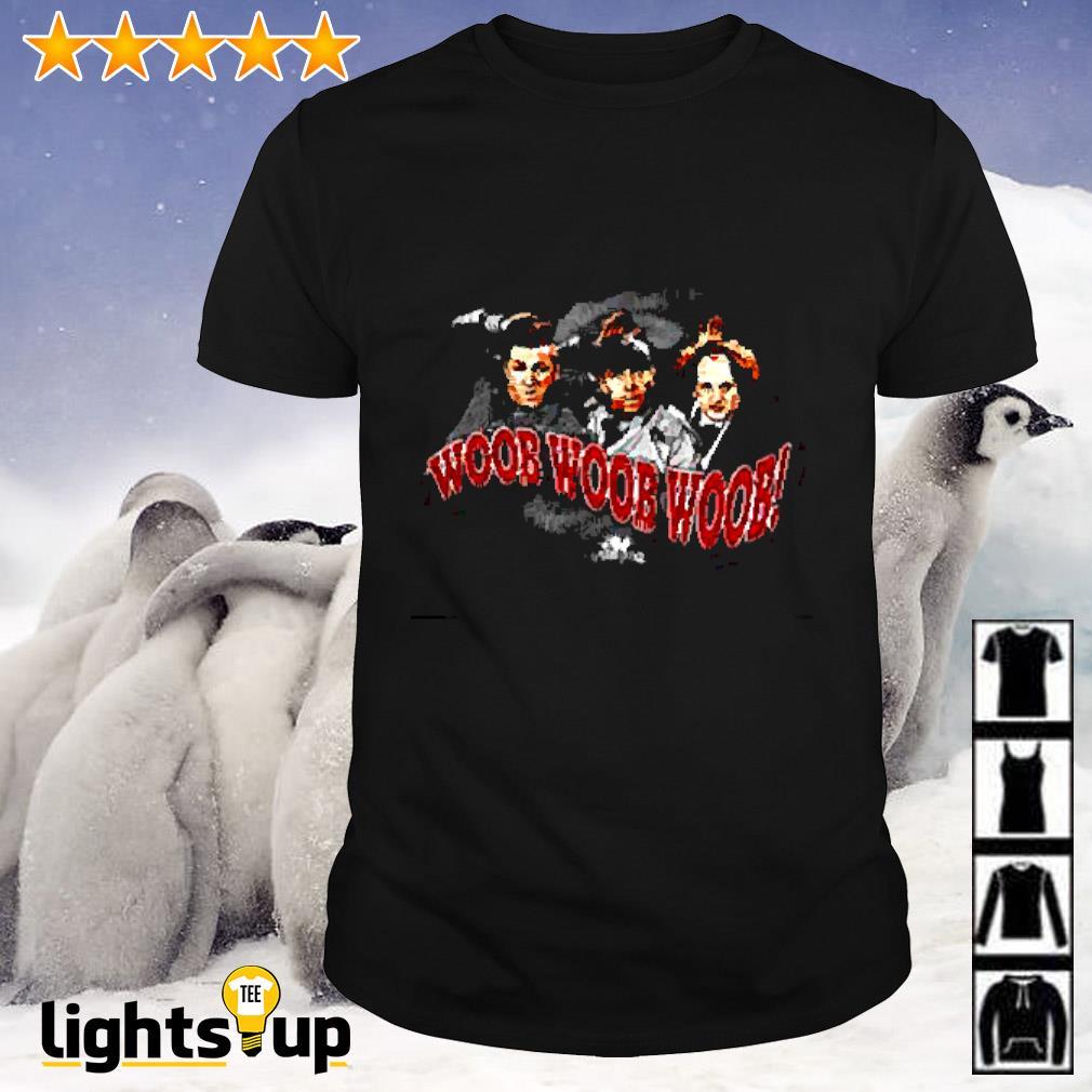 The three Stooges woob woob woob shirt