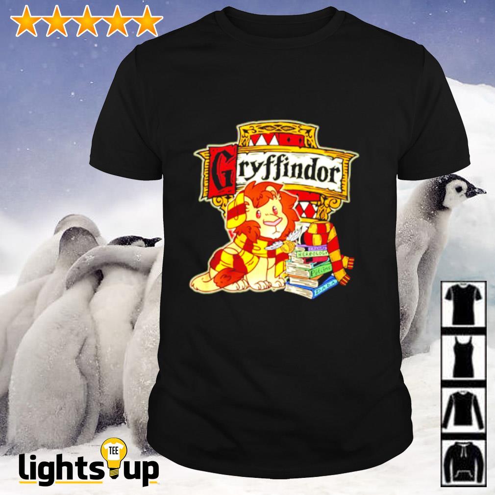 Gryffindor Lion and book shirt
