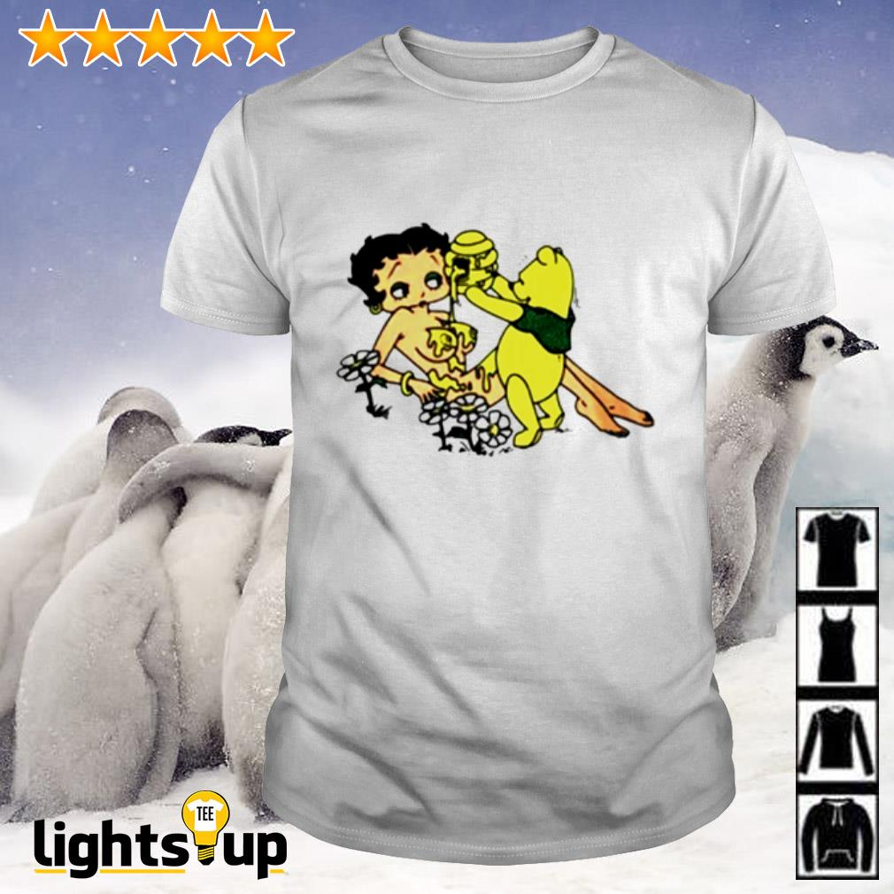 Honey Betty Boop and Pooh bear shirt