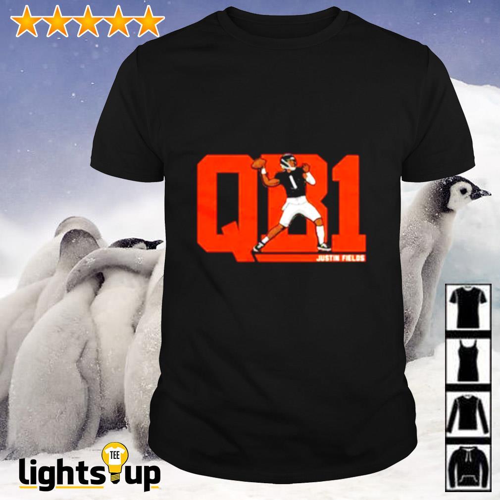 Justin Fields QB1 shirt