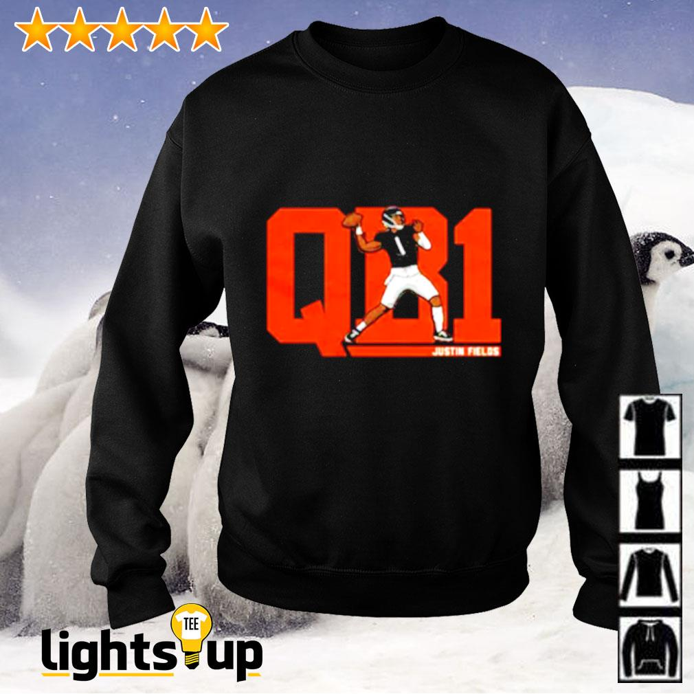 Justin Fields QB1 Sweater