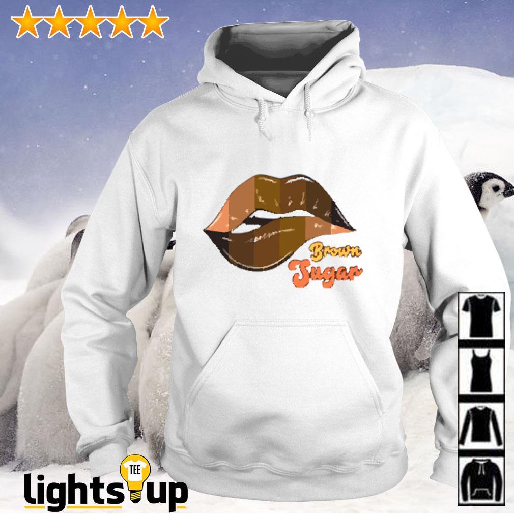 Lips Brown Sugar Hoodie