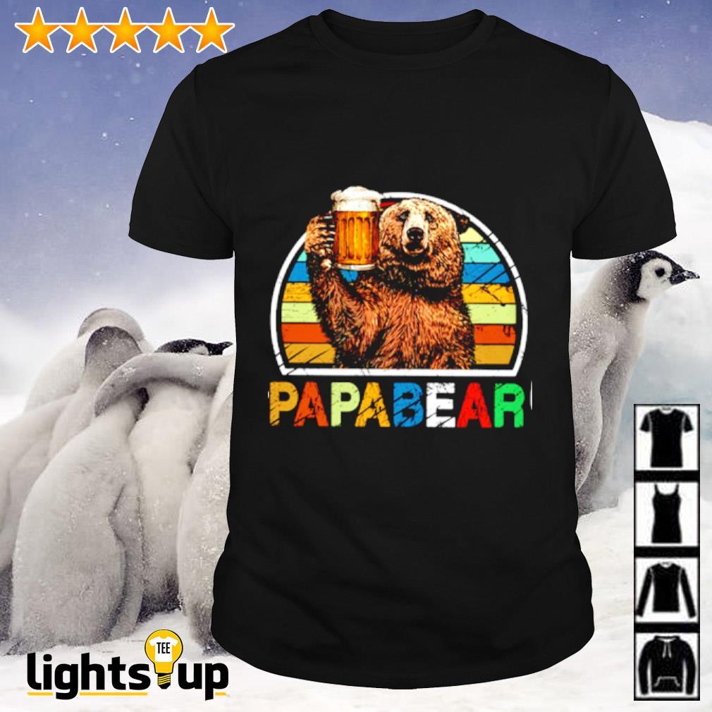 Papabear vintage shirt