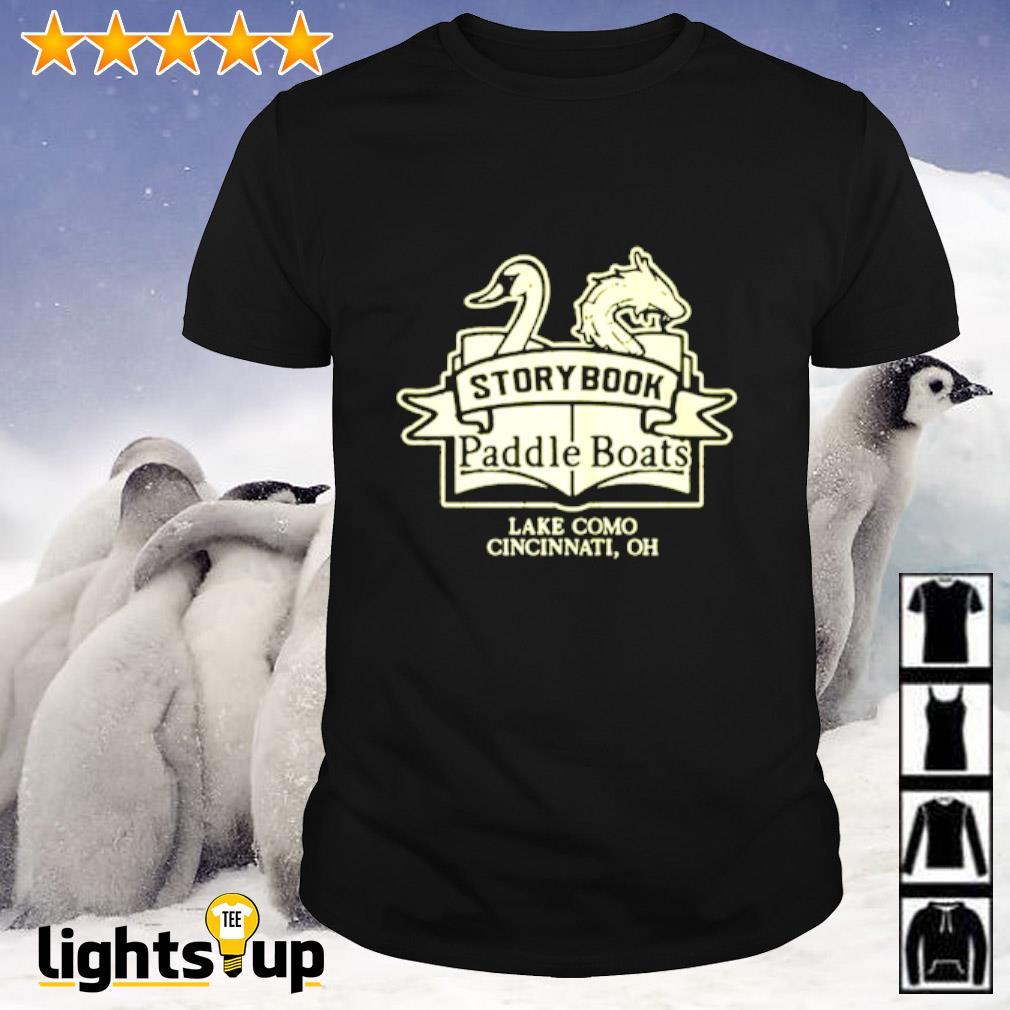 Storybook paddle boats shirt