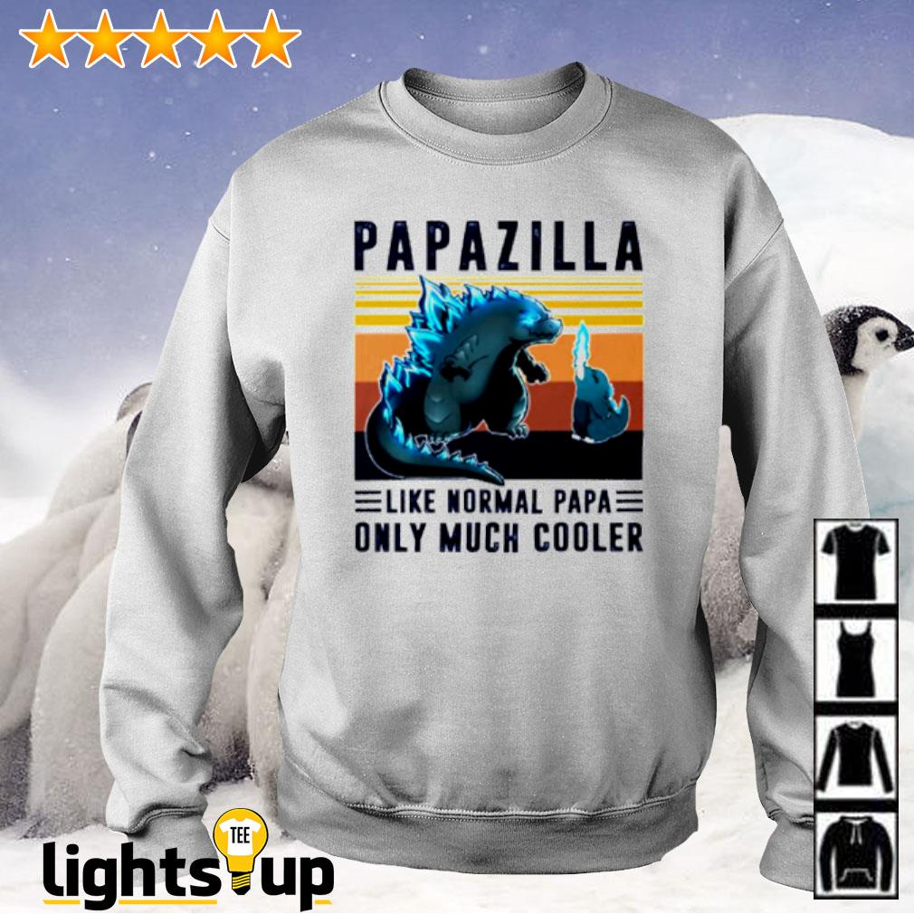 Vintage papazilla like normal papa only much cooler Sweater