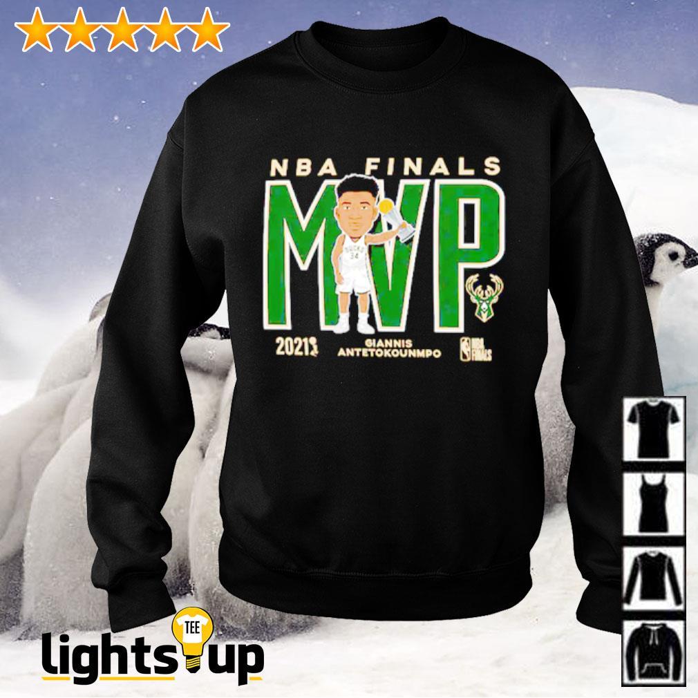 Giannis Antetokounmpo Milwaukee Bucks 47 2021 NBA Finals ...